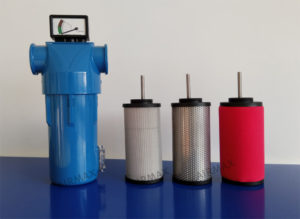 compressed air inline filter